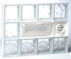 basement glass block windows glass block ventilation glass block basement windows glass block window vent covers