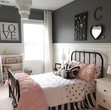 Girls Black White And Pink Bedroom Ideas 2