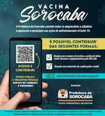 Prefeitura lança campanha inédita Vacina Sorocaba para custear vacinas e  outros recursos de enfretamento à Covid-19 – Agência de Notícias