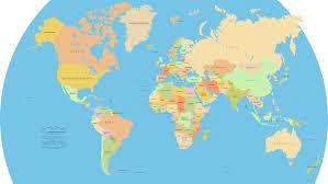 world flat map  pointcardme