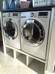 diy washer pedestal laundry pedestal lovely instead of paying a ridiculous for pedestals for under