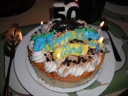 Dads 50th Birthday Cake Canoli Cheesecake Really Good Yelp