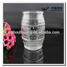 Decorative Glass Jars Wholesale Beer Barrel Shape Glass Mason Jar Wholesale Decorative Cheap Glass 17