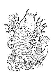 Small Picture Expensive Koi Fish Coloring Pages Expensive Koi Fish Coloring