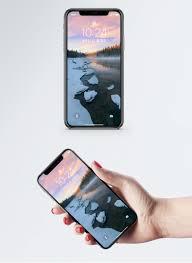 Ijs En Sneeuw Smelten Het Behang Van Een Mobiele Telefoon Gratis