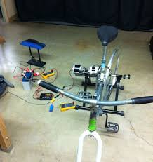 homemade electric generator. Bike Generator Homemade Electric D