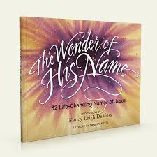 wonder of his name book