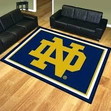 custom man cave rugs dame rug university of and flooring football