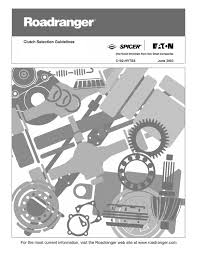 Eaton Fuller Clutch Chart Eaton Canastas 2016 By Santiago Donis Issuu