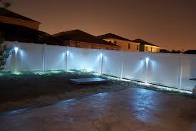 outdoor lighting ideas for backyard. Backyard Fence Lighting Ideas | Outdoor Furniture Design And For N