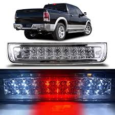 2010 Dodge Ram Third Brake Light Bulb Number Cciyu High Mount Stop Lights Replacement Fit For 2009 2017 Dodge Ram 1500 2010 2017 Dodge Ram 2500 3500 Led 3rd Brake Light Stop Cargo Lamp Clear