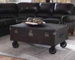 Airplane Wing Coffee Table Ottoman End Tables More Lazzaro Leather Occasionals