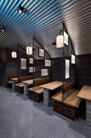 industrial style restaurant furniture. Industrial Interior Design This Restaurant And Bar Goes For A Warehouse Chic Style With Metal Concrete Wood Furniture O