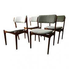 perfect standard dining chair height beautiful vine erik buck o d mobler danish dining chairs set of