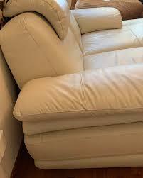 chaise lounge sofa set genuine leather
