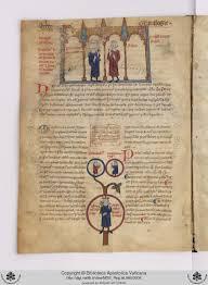 Découverte Un Manuscrit Avec Larbor Genealogiae Regum Francorum