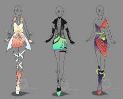 Clothing Design Ideas outfit adopts sold by nahemii sandeviantartcom on deviantart