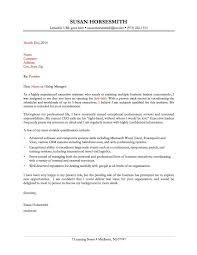 Sample Cover Letter Administrative Assistant The Letter Sample