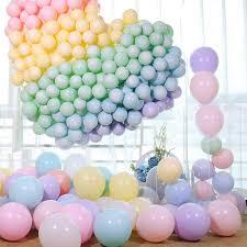 <b>100Pcs 10 Inch Macaron</b> Latex Balloon Mix <b>Color</b>/Pink Balloons ₱244