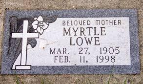 Myrtle Pinion Lowe (1905-1998) - Find A Grave Memorial