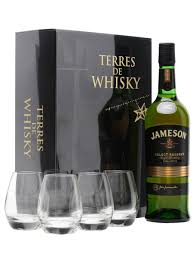 jameson select reserve 4 gles gift pack