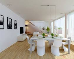 Dining Room Choosing White Dining Room Set For Your House Modern - Track lighting dining room