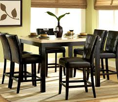counter height dinette tall dining table and chairs counter height dinette sets