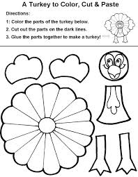 Coloring Pages Printable For Thanksgiving Printable Happy
