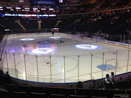 Msg Ny Rangers Seating Chart Madison Square Garden Section 101 New York Rangers