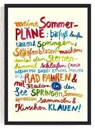 Schöne Sommerferien Sprüche Directdrukken