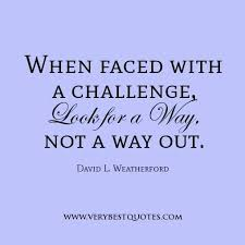 Challenge Quotes Enchanting Love Is A Challenge Quotes And When Faced With A Challenge Look For