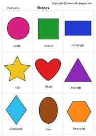 Shapes Chart For Nursery 801 Best Shape Activities Images In 2019 Preschool