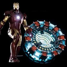 Avengers Assemble Night Light Us 40 98 30 Off The Avengers 1 1 Scale Iron Man Arc Reactor Led Night Light For Boys Man Need To Assemble Reactor With Install Manual Mk1 In Led