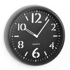 gallery of 9 round wall clock room essentials target complex black and white prime 2