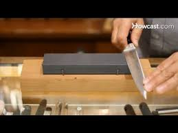 How To Use A Manual Hand Held Knife Sharpener  LEAFtvHow To Sharpen Kitchen Knives