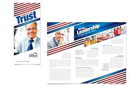 Political Flyer Template Campaign Newspaper Event Word