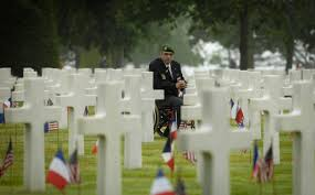 u s department of defense photo essay a veteran s the american cemetery during the 63rd anniversary of d day in normandy