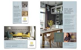 Interior Design Flyer & Ad