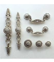 furniture drawer pulls and knobs. French Shabby Chic Dresser Drawer Pulls Handles Antique Silver Kitchen Cabinet Pull Handle Knobs Furniture Hardware Country Kitchens Coun And Q