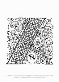 Illuminated Alphabet Coloring Pages Illuminated Alphabet Coloring