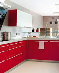 Red And White Kitchen Cabinets Fine On Regarding Best 25 Ideas Pinterest  Shaker 17