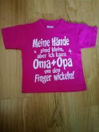 T Shirt Größe 80 Pink Mit Spruch Oma Und Opa In Bochum Bochum Ost