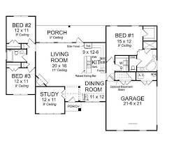 open concept ranch floor plans homes floor plans open concept house plans no dining room