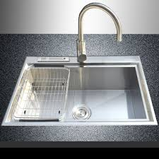 Stainless Steel Kitchen Sinks And Faucets  Installing Stainless Best Stainless Kitchen Sinks