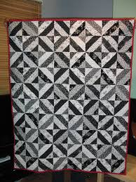 Small Picture Black And White Quilt Designs Needles Pins and Baking Tins