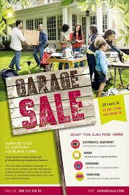 Garage Sale Flyer Template Free Neighborhood Yard Sale Flyer Free