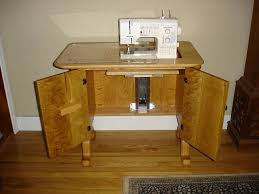 ROM Woodworking - Compact Sewing Machine Table - Handmade Oak ... & sewing machine table · sewing machine table Adamdwight.com