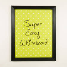 diy dry erase board from dollar finds jenuinemom com