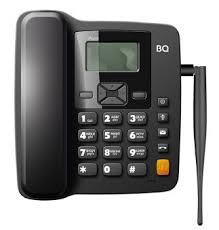 Купить <b>Телефон</b> стационарный <b>BQ 2410 Point</b>, 2-SIM, черный по ...