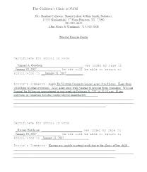 Create A Doctors Note Free Fake Dentist Note Template Free